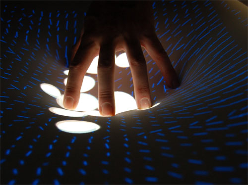 DepthTouch: An Elastic Surface for Tangible Computing
