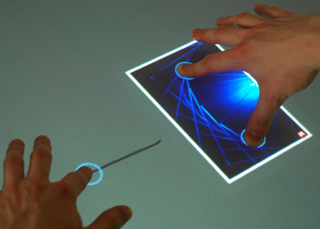 Towards a Formalization of Multi-touch Gestures