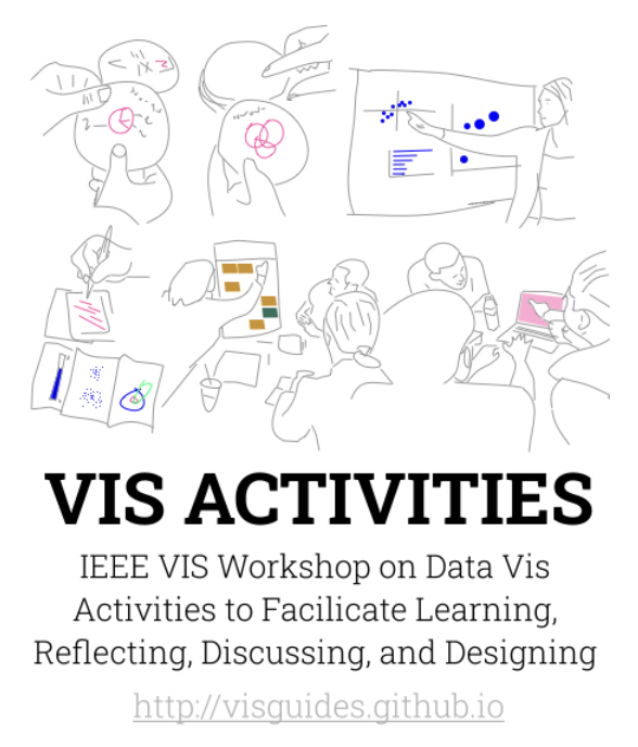 2nd IEEE VIS Workshop on Data Vis Activities to Facilitate Learning, Reflecting, Discussing and Designing
